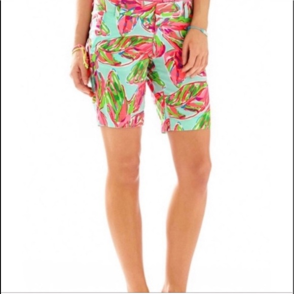 LILLY PULITZER In The Vias Chipper Bermuda Shorts